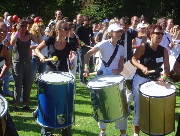 Agence Team Building Percussions